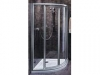 KOL21368 KO AKORD SWING KABINA 80 RKPF80R22005 GAT.I Szkło hartowane z powłoką Reflex - profile srebrne półmat