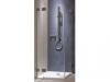 KOL19574 KO NIVEN KABINA 90 KW FKDF90222003 GAT. Szkło hartowane z powłoką Reflex - profile srebrne połysk