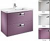 Zestaw łazienkowy KOLOR BIAŁY 576   70 (umywalka 70x44cm + szafka pod umywalkę 68x60x41,5cm z 2 szufladami) ROCA