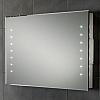 LUSTRO HENRY 73106500 Z PODŚWIETLENIEM LED H50 x W80 x D5.5cm ZASILANE Z AKUMULATORA W KPL.AKUMULATOR I ŁADOWARKA