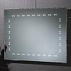 LUSTRO HANNAH 73106200 POZIOME LUB PIONOWE KRAWĘDZIE FAZOWANE H60 x W80 x D3.5cm PODŚWIETLANE LEDAMI.