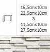 NAROŻNIK WEWNĘTRZNY MODERNO ARCTIC 22,5cmx10cm GAT.1 DO WEW./ZEW.( OP.1,00 MB = 10 SZT.)K.J.INCANA