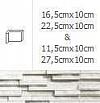 NAROŻNIK WEWNĘTRZNY MODERNO ARCTIC 27,5cmx10cm GAT.1 DO WEW./ZEW.( OP.1,00 MB = 10 SZT.)K.J.INCANA