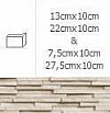 NAROŻNIK ZEWNĘTRZNY MODERNO FROST 13cmx10cm  GAT.1 DO WEW/ZEW.( OP.1,00 MB = 10 SZT.)K.J.INCANA