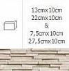 NAROŻNIK ZEWNĘTRZNY MODERNO FROST 7,5cmx10cm GAT.1 DO WEW./ZEW.( OP.1,00 MB = 10 SZT.)K.J.INCANA