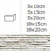NAROŻNIK ZEWNĘTRZNY SIERRA ARCTIC 10x20cm DO WEW./ ZEW.GAT.1 ( OP.1, MB. = 10 SZT.)K.J.INCANA
