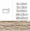 NAROŻNIK ZEWNĘTRZNY SIERRA DUNE 10x15cm DO WEW./ ZEW.GAT.1 ( OP.1, MB. = 10 SZT.)K.J.INCANA