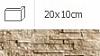 NAROŻNIK ZEWNĘTRZNY ALASKA BROSS 20 x 10 cm GAT.1 DO WEW./ZEW. ( OP.1,00 MB = 10 SZT.)K.J.INCANA