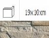 NAROŻNIK ZWENĘTRZNY MONTANA DESERT 19 x 10 cm GAT.1 DO WEW./ZEW. ( OP.1,00 MB = 10 SZT.)K.J.INCANA
