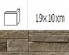 NAROŻNIK ZWENĘTRZNY MONTANA MAGMA 19 x 10 cm GAT.1 DO WEW./ZEW. ( OP.1,00 MB = 10 SZT.)K.J.INCANA
