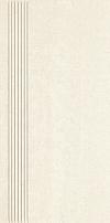 STOPNICA GRES PORCELANOWY DOBLO BIANCO REKTYFIKOWANA 29,8/59,8 SATYNOWA GAT.1 ( OP.1,43 M2 )K.J.PARADYŻ