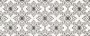 PŁYTKA ŚCIENNA BLACK&WHITE PATTERN E 20X50 G.1 ( OP.1,30 M2 )K.J.OPOCZNO